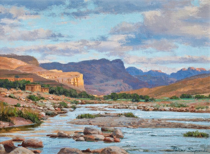 Peter Symonds , Dawn Jebel Sahro, Morocco