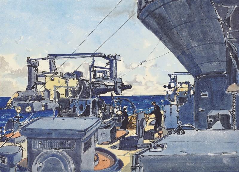 HMS Rodney in the Mediterranean