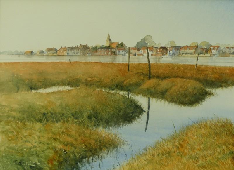 Gordon Rushmer , Late light, Bosham