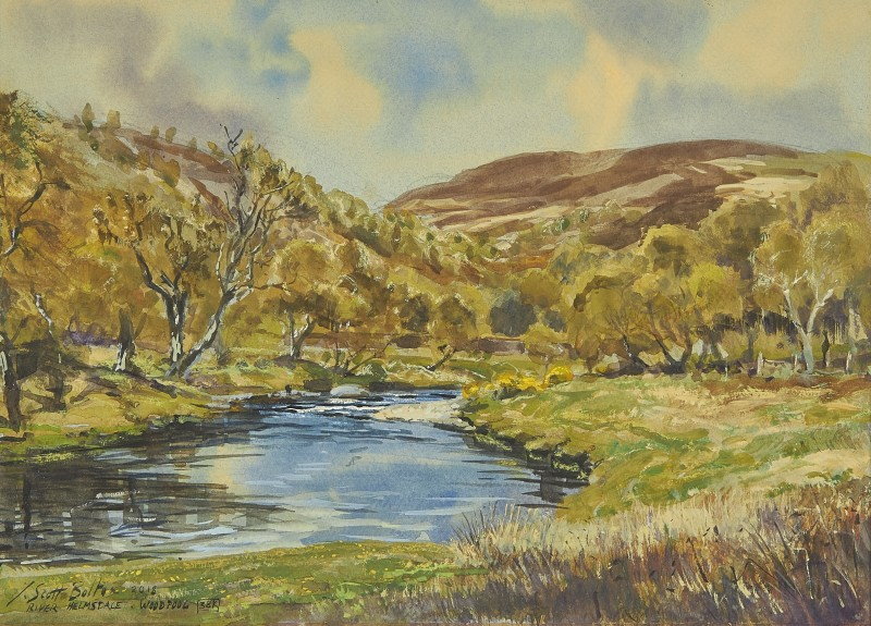 Tim Scott Bolton , Woodpool, River Helmsdale