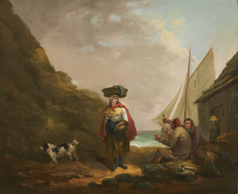 George Morland , The Fisherman's Toast