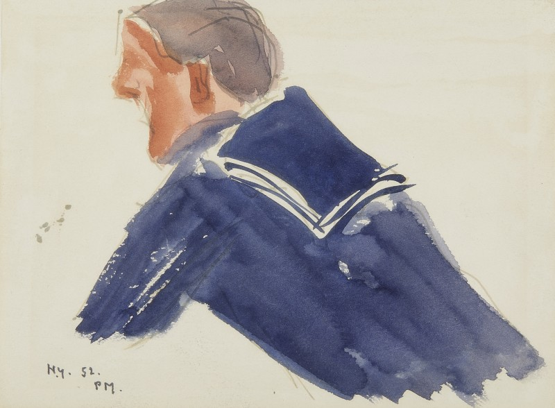 Study of a sailor