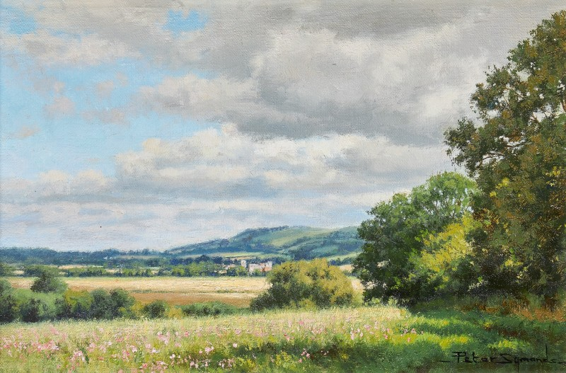 Amberly and the Downs from Bury, West Sussex
