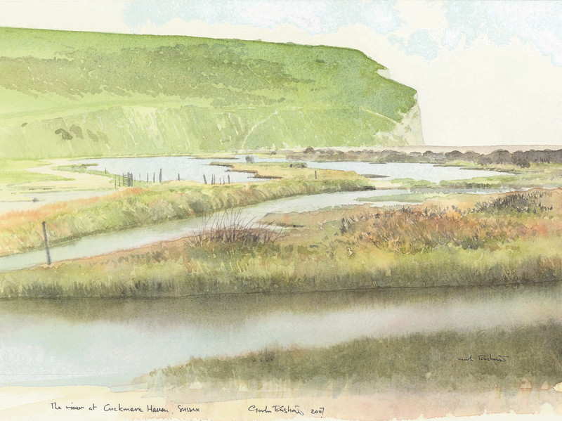 The River at Cuckmere Haven