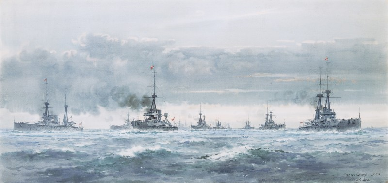 First Battle Squadron, July 1910