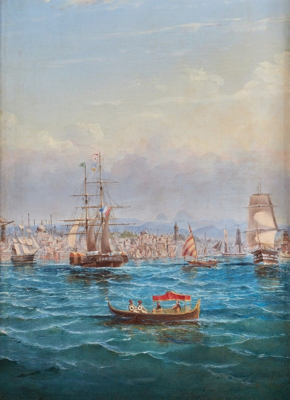 Busy shipping off Constantinople