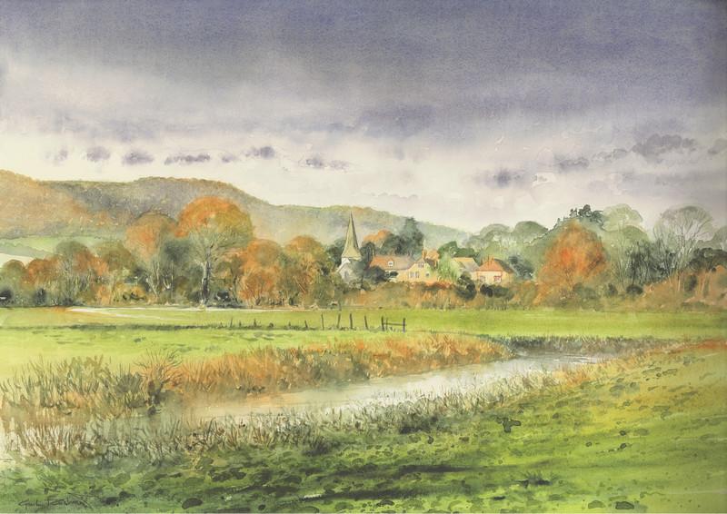 Gordon Rushmer , Bad weather over Bury