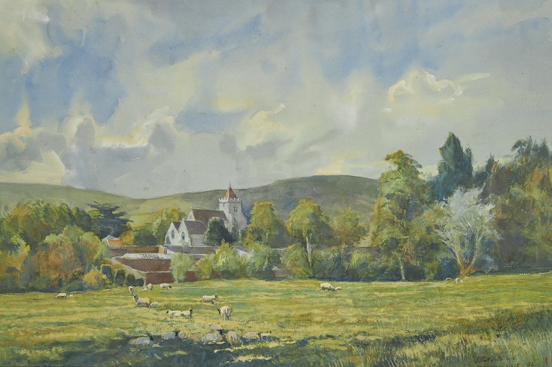 Tim Scott Bolton , The Downs by Firle, East Sussex
