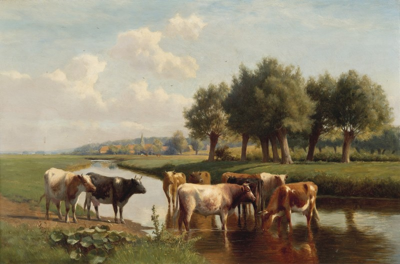 William Sidney Cooper , A pastoral scene