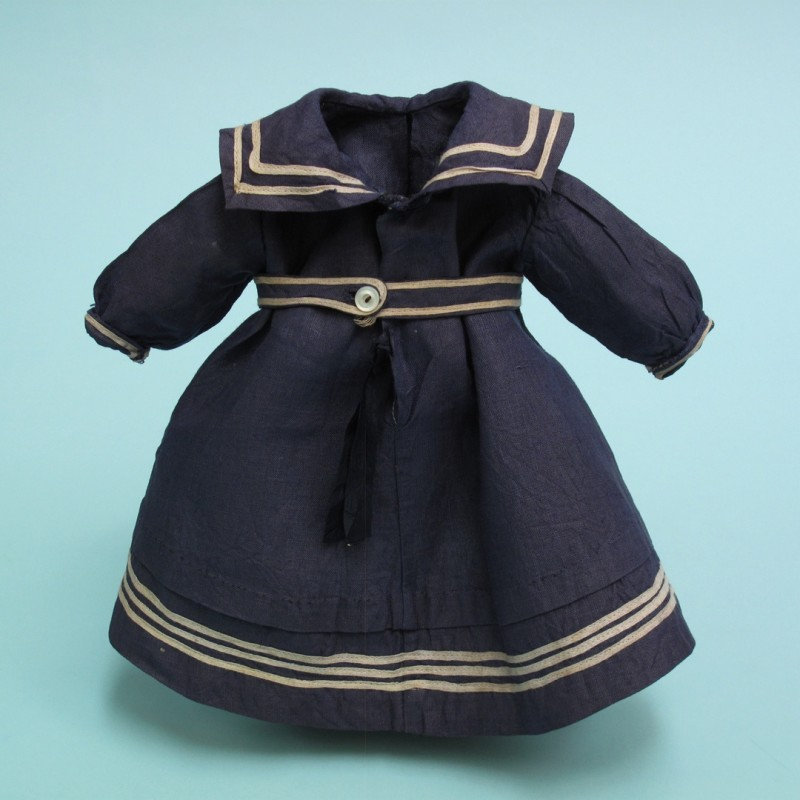 Edwardian doll's bathing costume.
