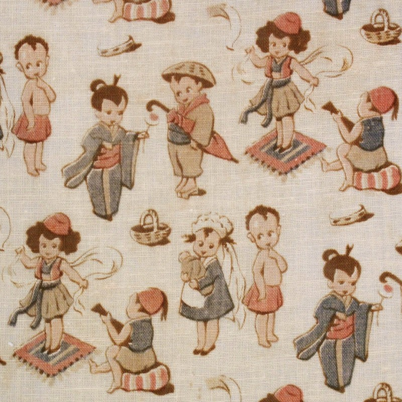 Selection of children's cotton prints.
