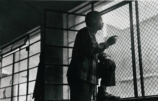 7月26日运动成员卡利斯托·加西亚在狱中,墨西哥城,1956年