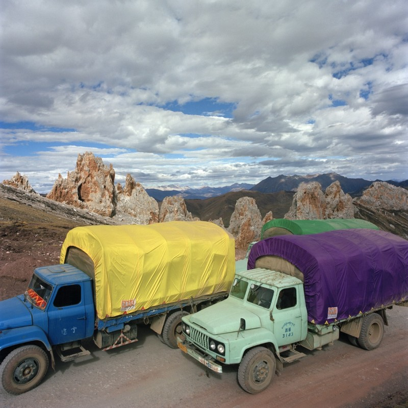 《达玛拉山车队1号》 Damala Mountain - Motorcade No.1