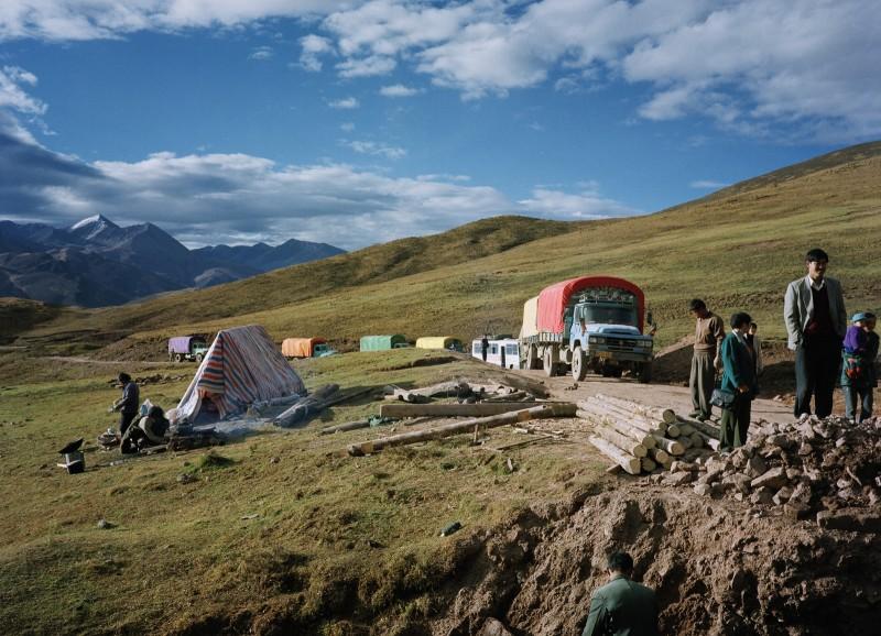 《雪集拉山车队2号》 Xuejila Mountain - Motorcade No.2