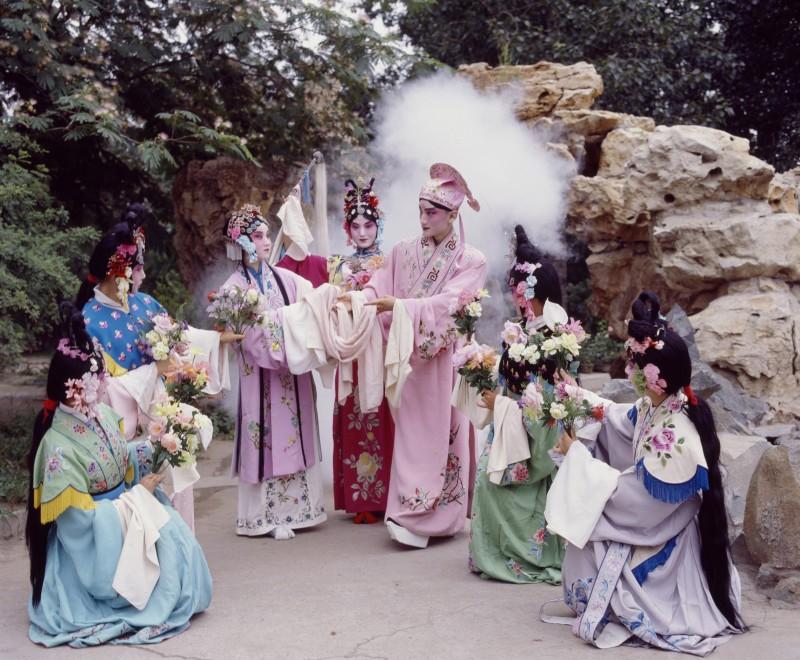 北昆《牡丹亭之花神共贺》1987