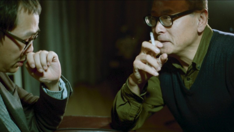 王拓 Wang Tuo, 《审问》The interrogation, 单频道高清影像(彩色有声)Single channel HD video (color, sound), 18分35秒 18'35'', 2017
