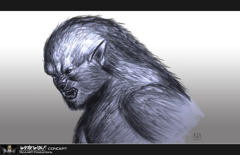 Werewolf Concept: For untitled AKIVA GOLDSMAN FILM