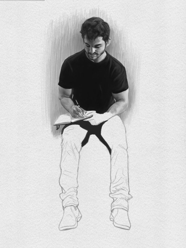 Tim Nardelli, Sketchpad Drawing, 2018