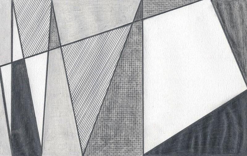 """Detail of NOT LICHTENSTEIN (Imperfect Painting, 1986) 112 x 168"""""""