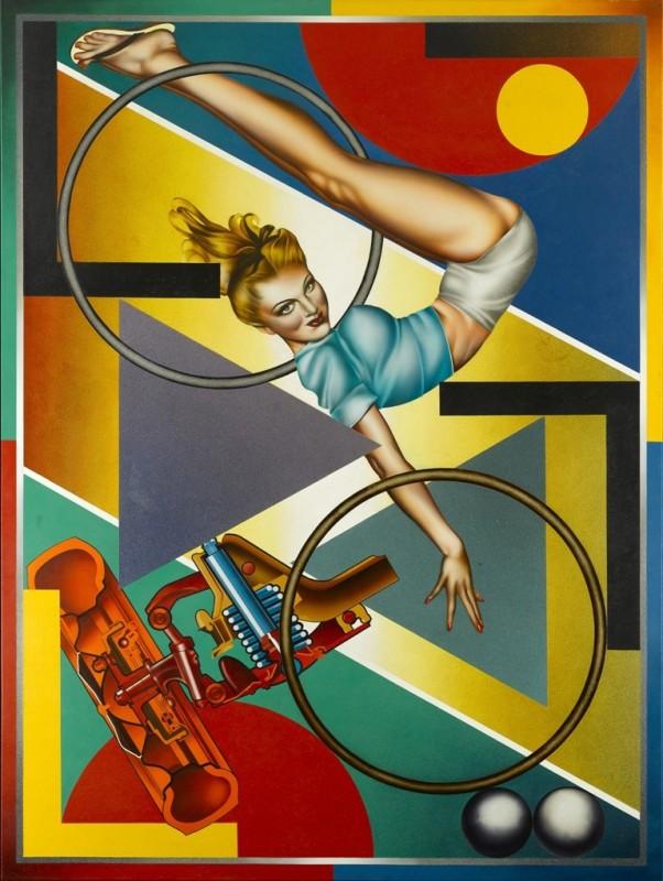 Peter Phillips, Pop, Pin-Ups & Mosaics