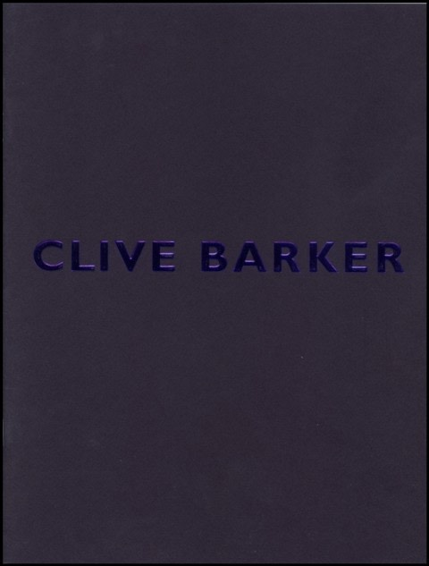 Clive Barker, Recent Works