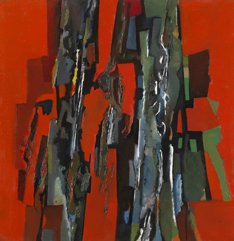 Caziel: Paintings 1963 - 1967, Lacerated Rhythms