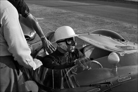 Jesse Alexander, STIRLING MOSS, ASTON MARTIN, LE MANS, 1958