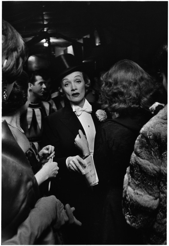 Elliott Erwitt, MARLENE DIETRICH, NEW YORK CITY, USA, 1959