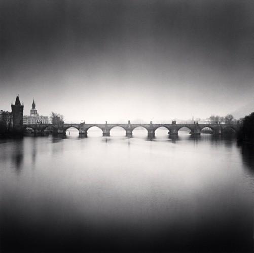 Michael Kenna, CHARLES BRIDGE, STUDY NO 9, PRAGUE, CZECH REPUBLIC, 2007
