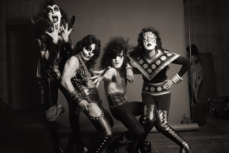 NORMAN SEEFF, KISS, LOS ANGELES, 1975