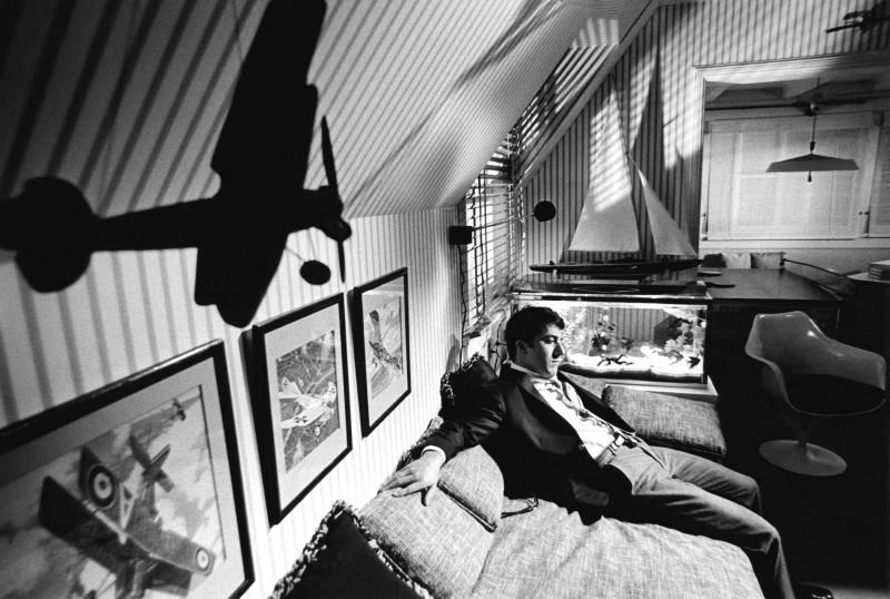 Bob Willoughby, DUSTIN HOFFMAN ON THE SET OF 'THE GRADUATE', PARAMOUNT STUDIOS, 1967