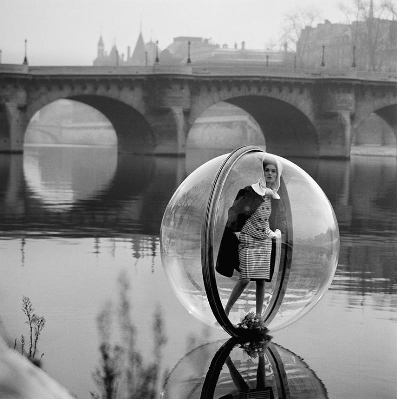 MELVIN SOKOLSKY, BOUQUET SEINE, PARIS, 1963