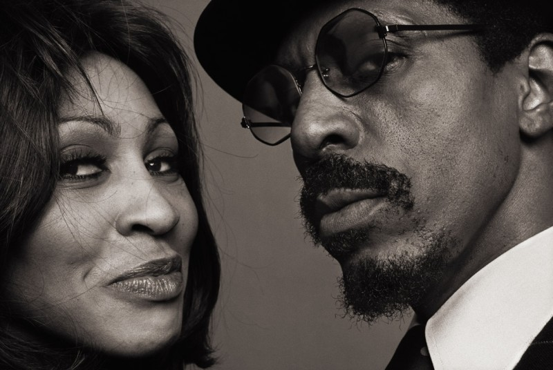 NORMAN SEEFF, IKE AND TINA TURNER, THE LOOK, LOS ANGELES, 1975