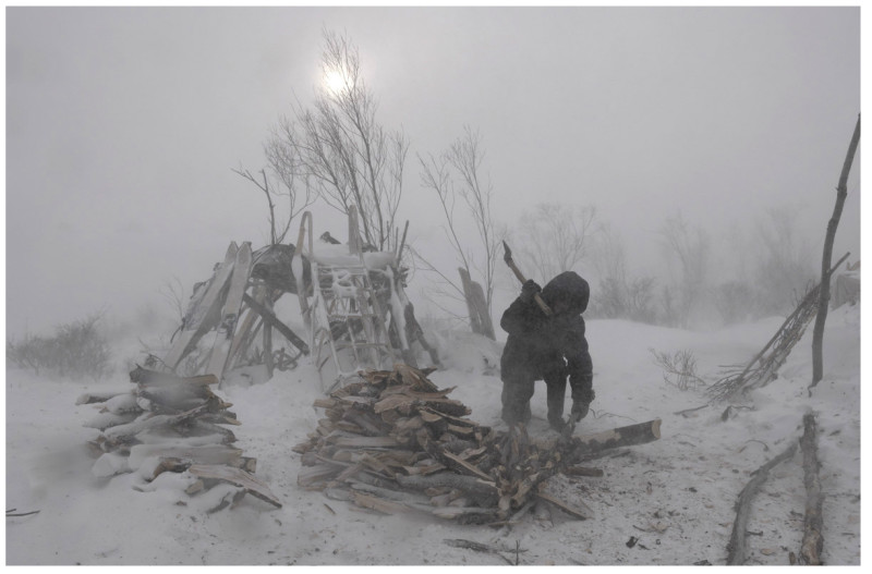 Vincent Munier, IGOR, SON OF THE CHIEF NOMAD, KAMTCHATKA, 2007
