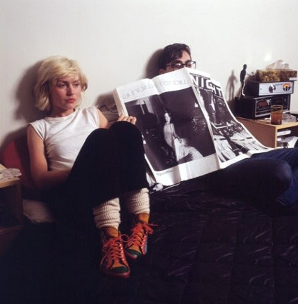 Mick Rock, DEBBIE AND CHRIS ON BED, 1979
