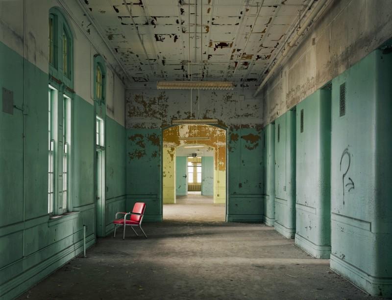 Christopher Payne, Ward 40, Buffalo State Hospital, Buffalo NY, From The Asylum Series, 2003