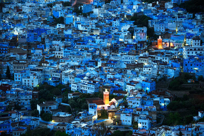 Steve Mccurry, CHEFCHAOUEN, MOROCCO, 2016