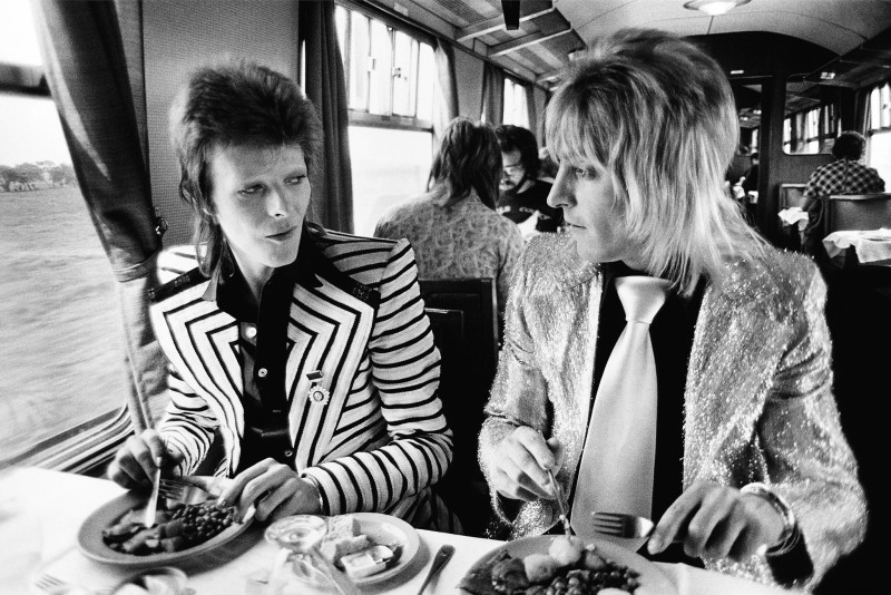 Mick Rock, DAVID BOWIE AND MICK RONSON, 1973
