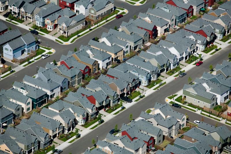 Alex Maclean, HOUSING DEVELOPMENT II, BEAVERTON, OREGON, USA, 2005