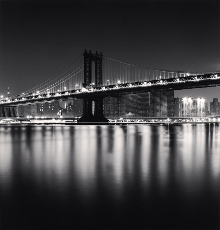 Michael Kenna, MANHATTAN BRIDGE, STUDY 1, NEW YORK, USA, 2006