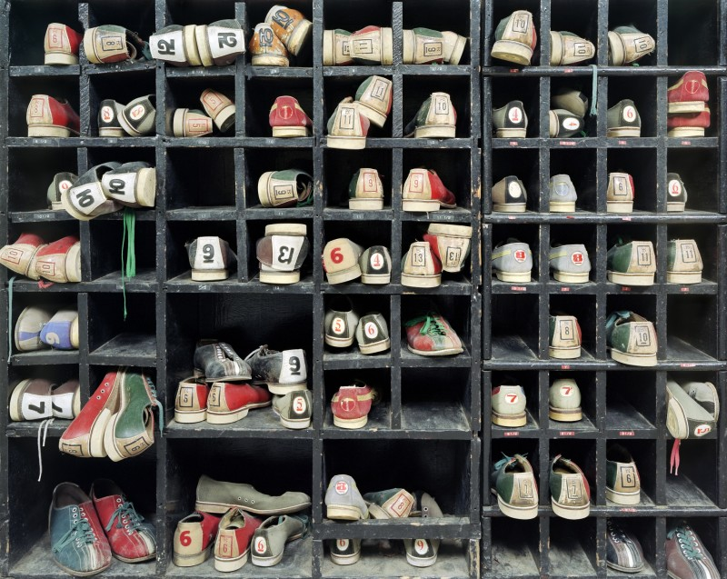 Christopher Payne, Bowling Shoes, Rockland State Hospital, Orangeburg NY, From The Asylum Series, 2006