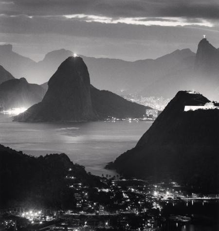 Michael Kenna, NIGHT LIGHTS, RIO DE JANIERO, BRAZIL, 2009