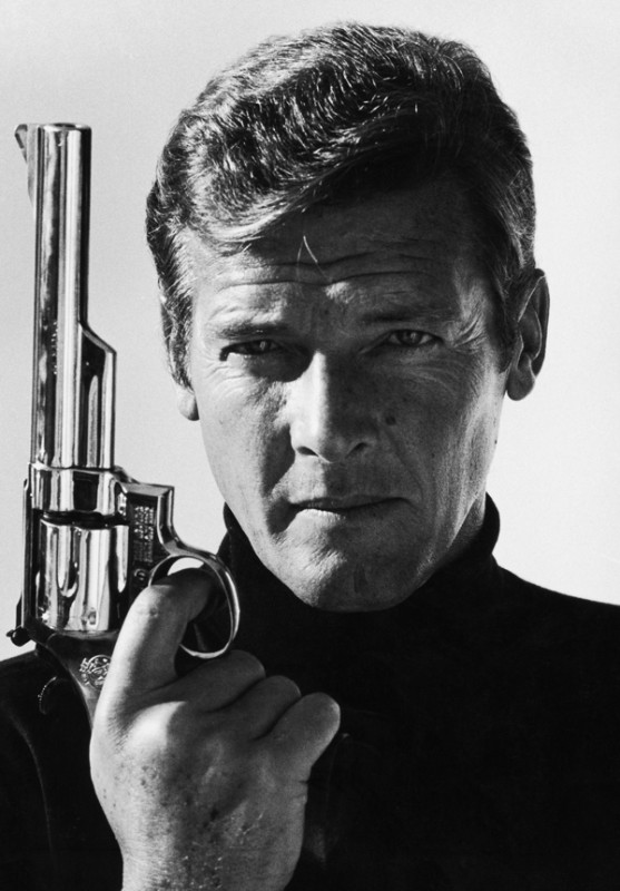 Terry O'Neill, ROGER MOORE, 1970