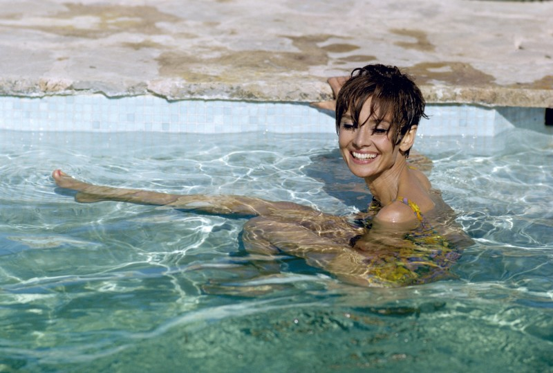 Terry O'Neill, AUDREY HEPBURN TAKES A BREAK DURING THE FILMING OF 'TWO FOR THE ROAD', 1967
