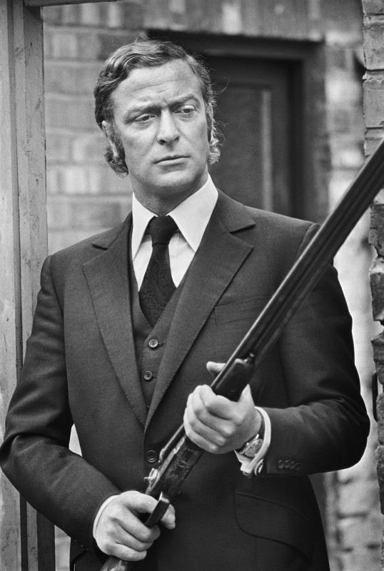 Terry O'Neill, MICHAEL CAINE ON THE SET OF 'GET CARTER', NEWCASTLE, 1971