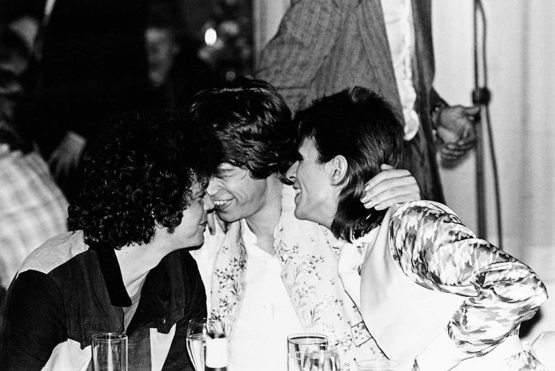 Mick Rock, LOU REED, MICK JAGGER, DAVID BOWIE, 1973