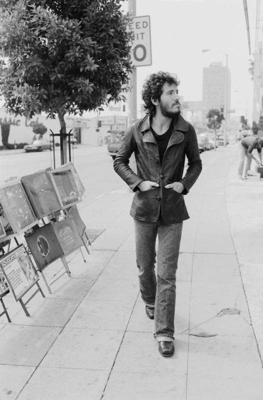 Terry O'Neill, BRUCE SPRINGSTEEN ON SUNSET STRIP, LOS ANGELES, TO PROMOTE BORN TO RUN, 1975