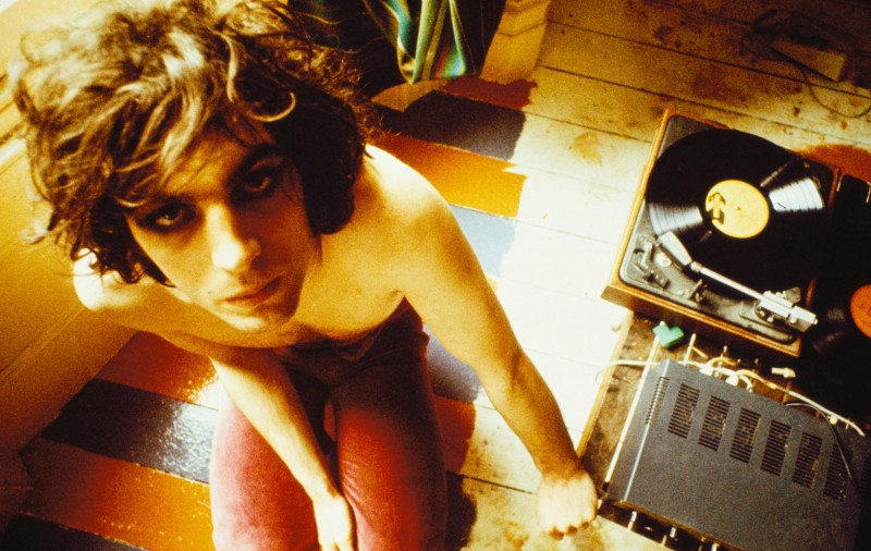 Mick Rock, SYD BARRETT WITH RECORD PLAYER, LONDON, 1969