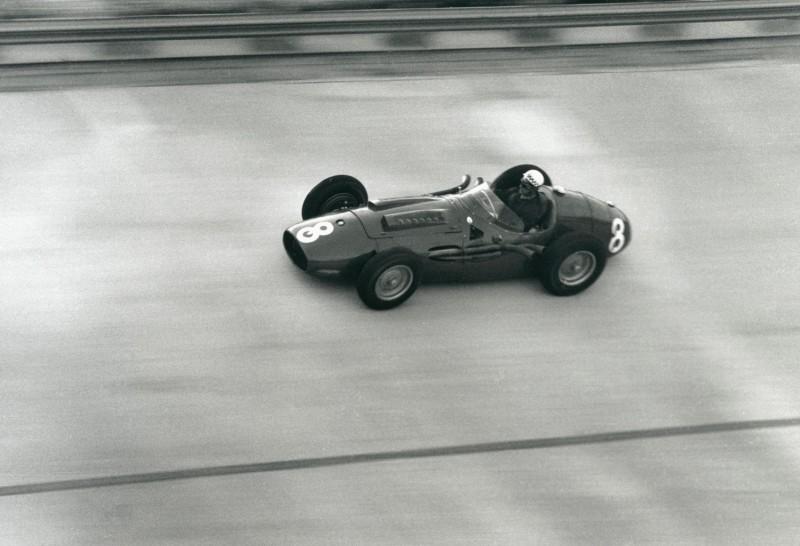 Jesse Alexander, BEHAR, MONZA 500, ITALY, 1957