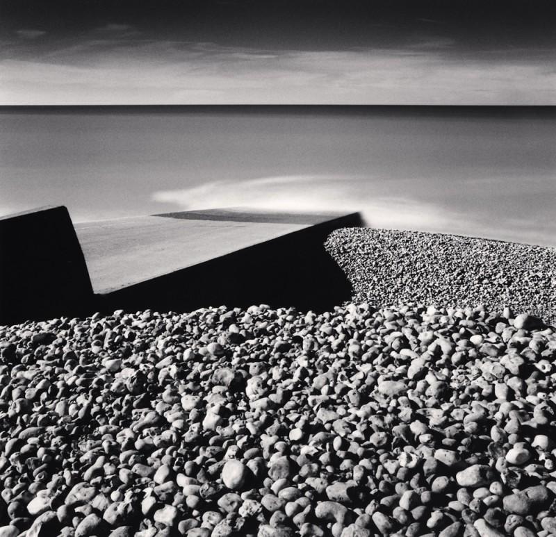 Michael Kenna, PEBBLE BEACH, AULT, PICARDY, FRANCE, 2009